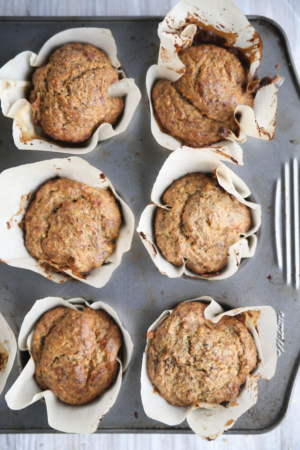 Pure ella hemp seed banana bread muffins3