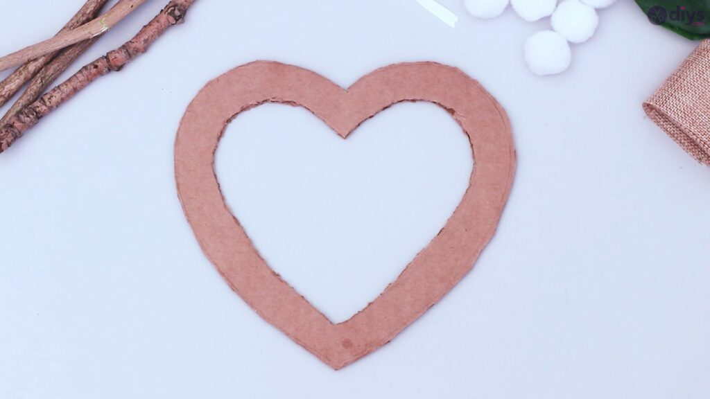 Rustic twig heart wall art (4)
