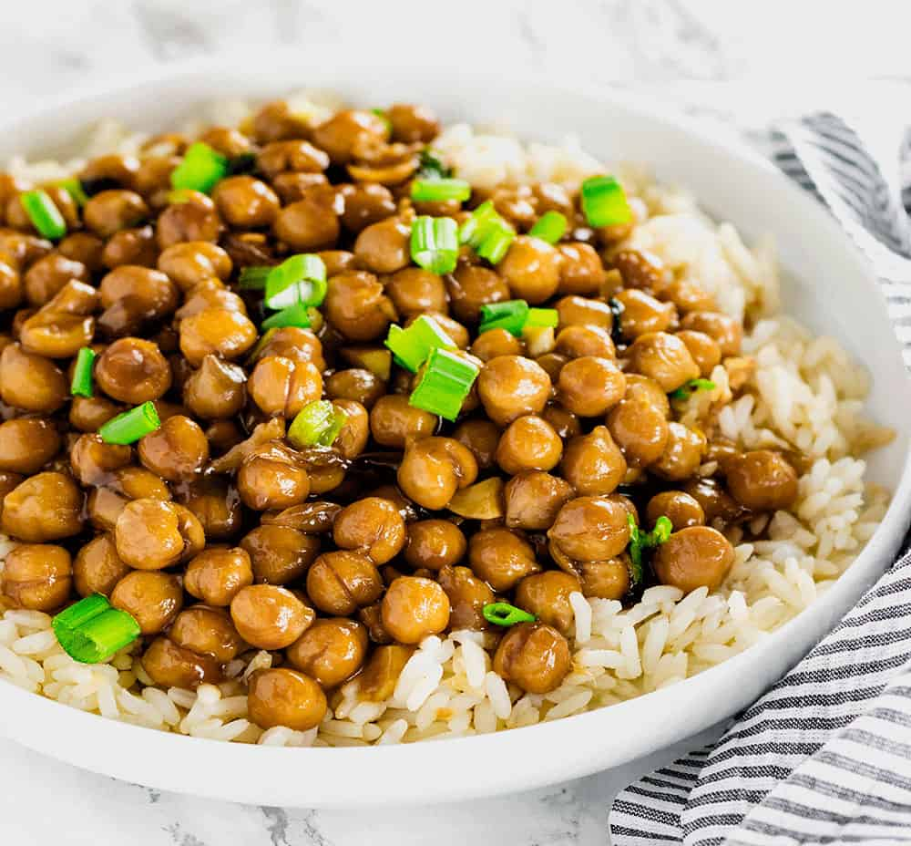 General tsos chickpea