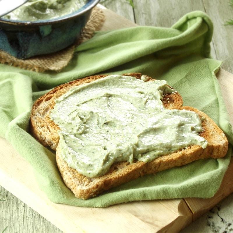 Hemp cheese toast featured