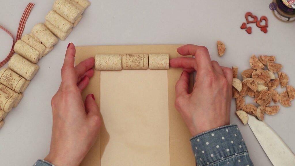 Wine cork photo frame (14)
