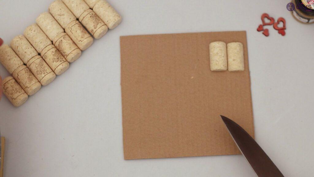 Wine cork photo frame (3)