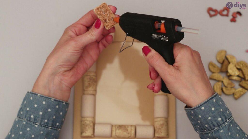 Wine cork photo frame (40)