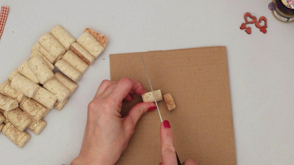 Wine cork photo frame (5)