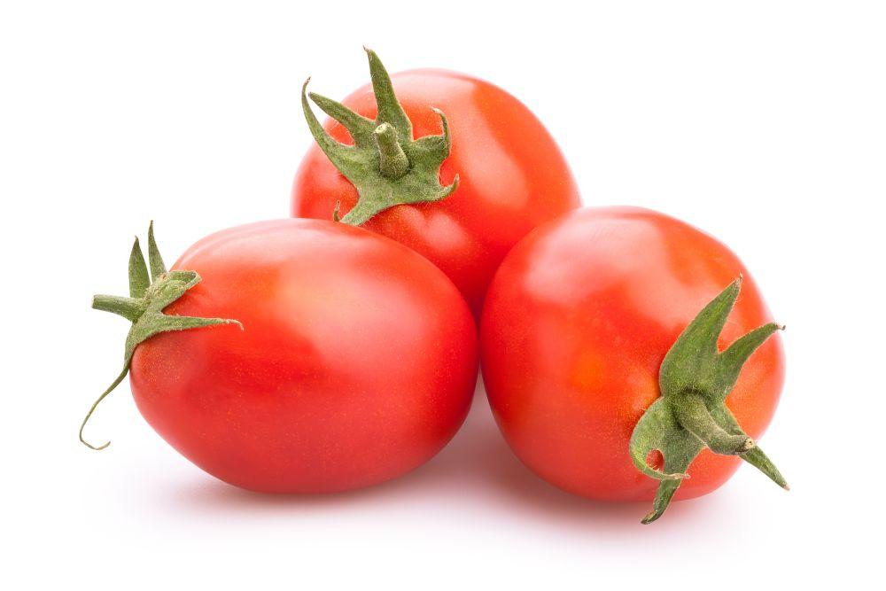 Flash freeze whole tomatoes