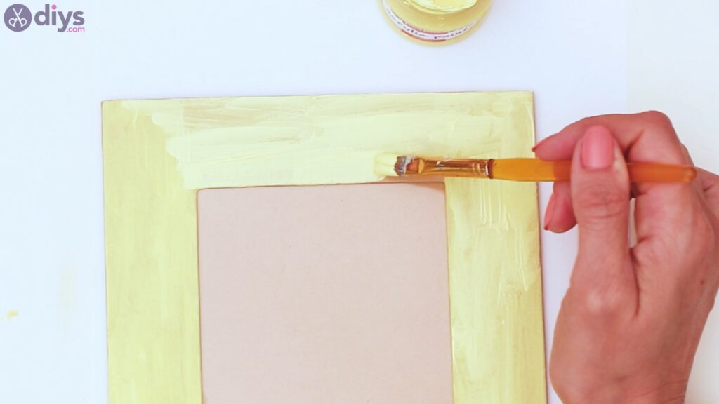 Button picture frame steps (4)
