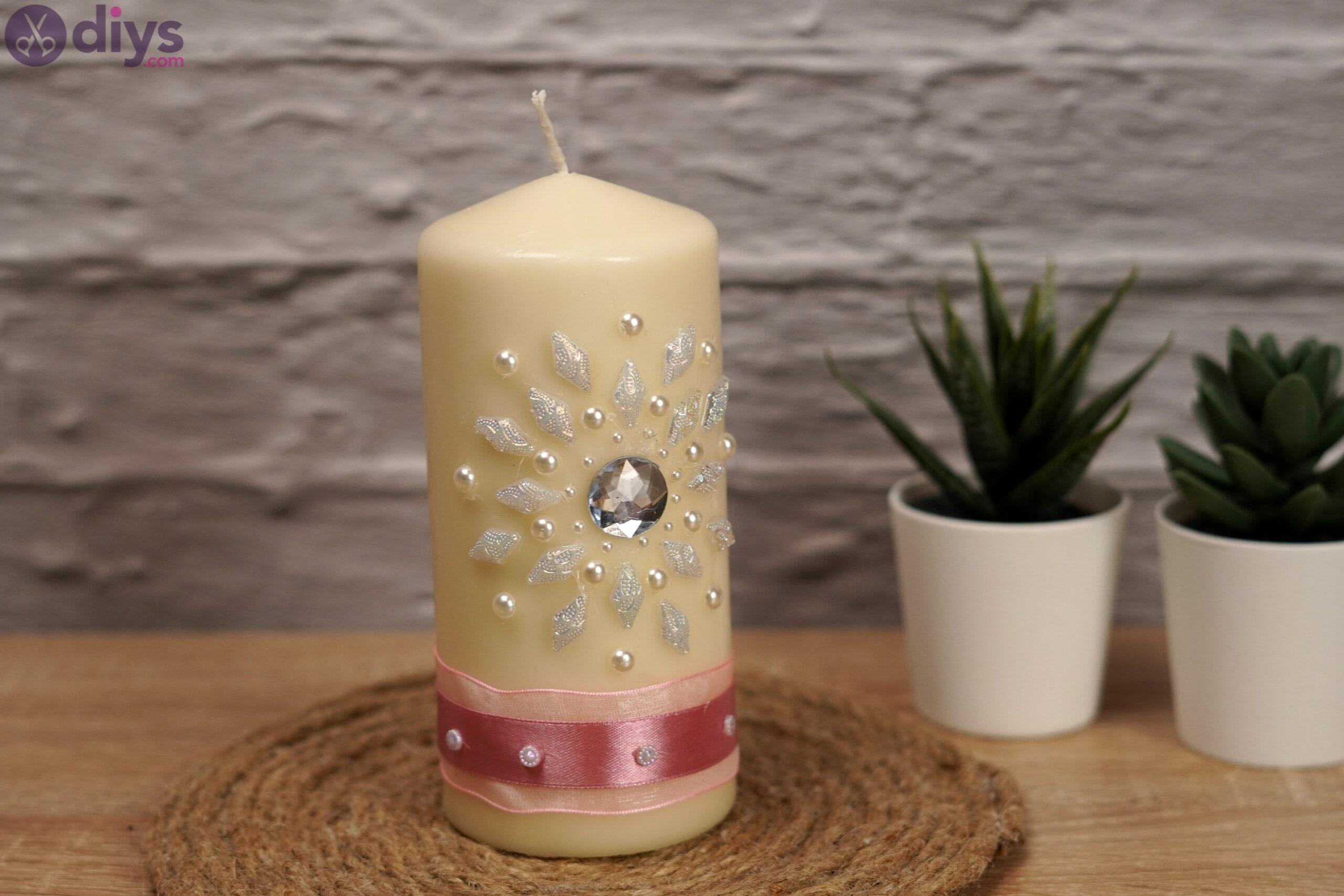 Diy candle art (5)
