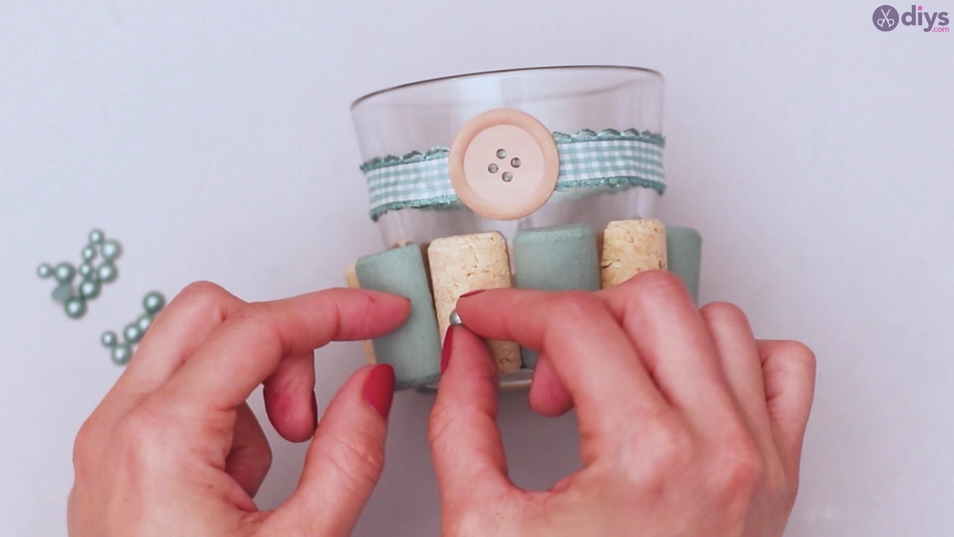 Diy wine cork candle holder (27)