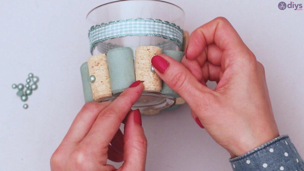 Diy wine cork candle holder (30)