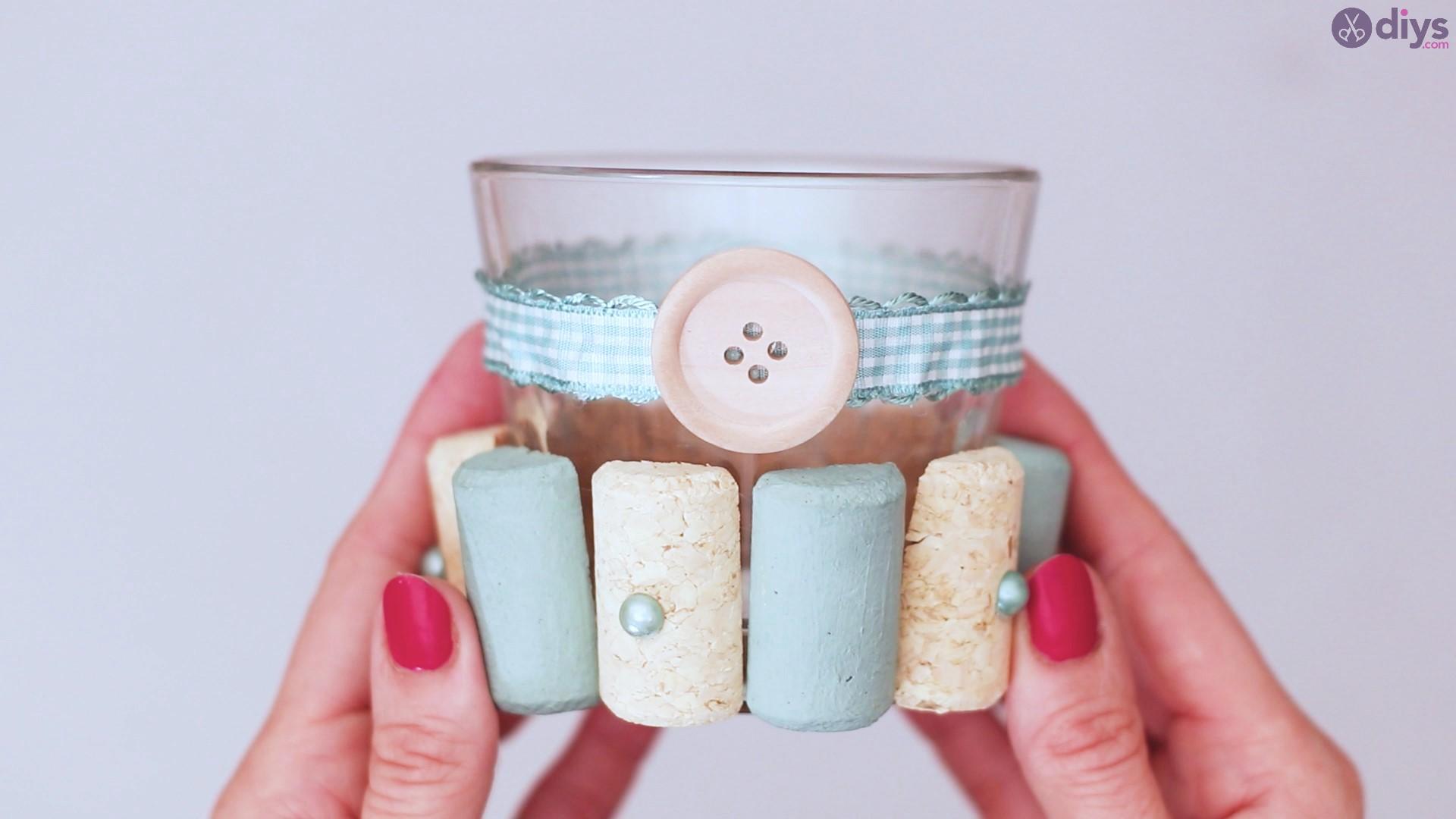 Diy wine cork candle holder (31)