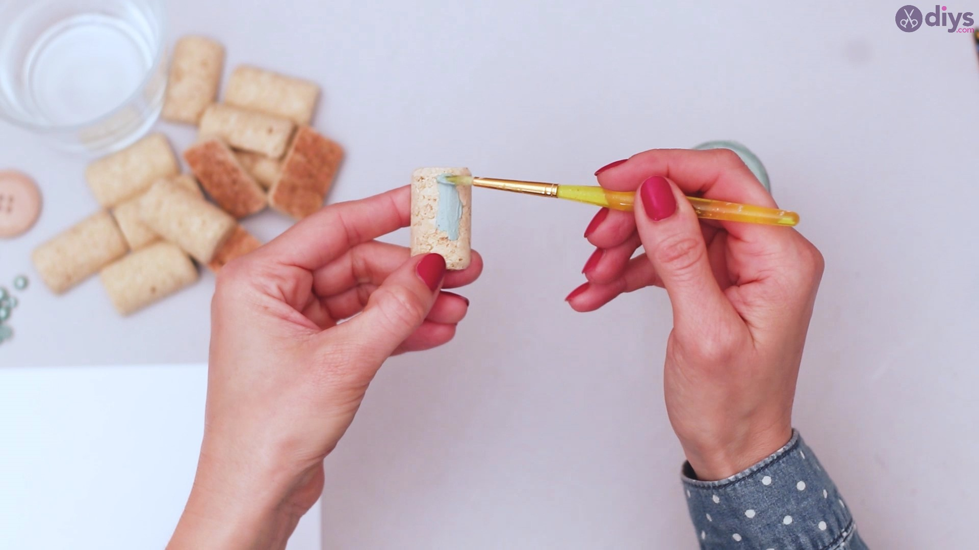 Diy wine cork candle holder (4)