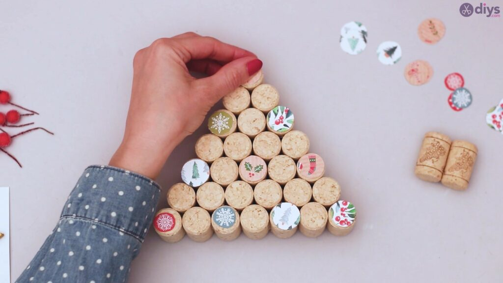 Diy wine cork christmas tree (34)