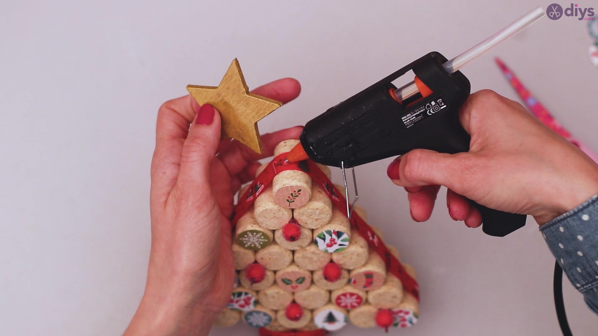 Diy wine cork christmas tree (59)