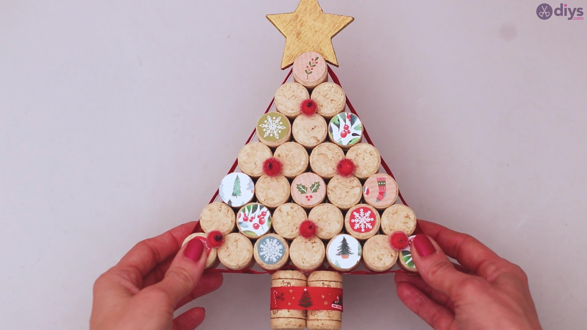 Diy wine cork christmas tree (61)