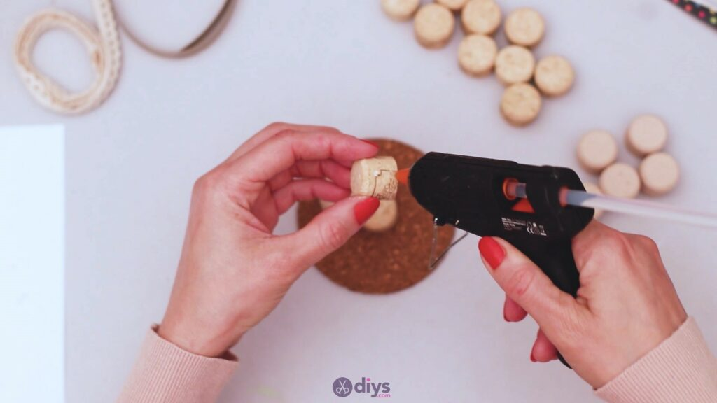 Diy wine cork coaster (21)