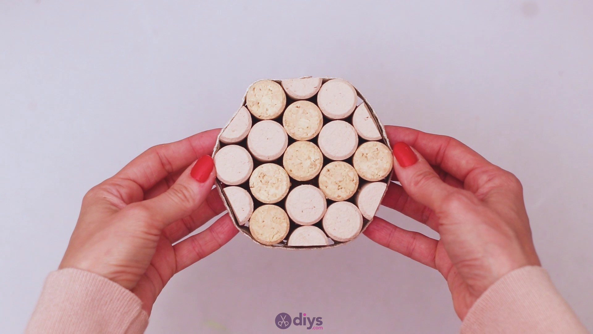 Diy wine cork coaster (50)