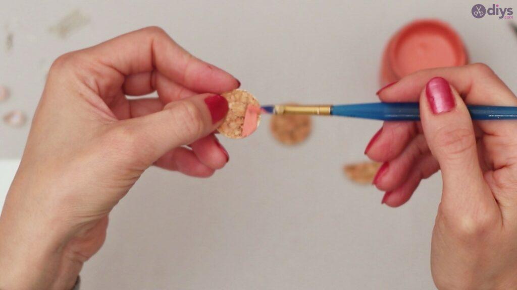 Diy wine cork earring (10)