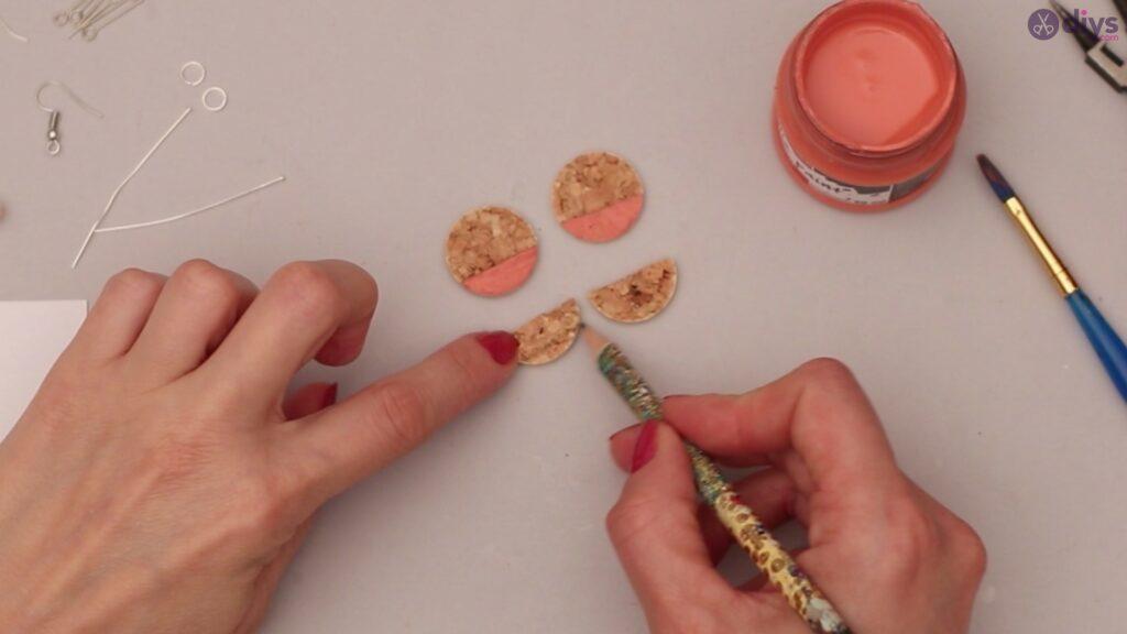 Diy wine cork earring (11)