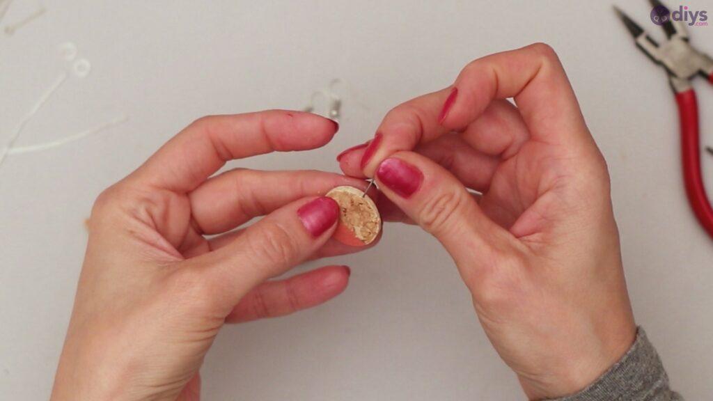 Diy wine cork earring (22)
