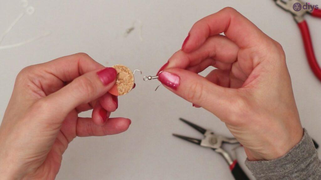 Diy wine cork earring (27)