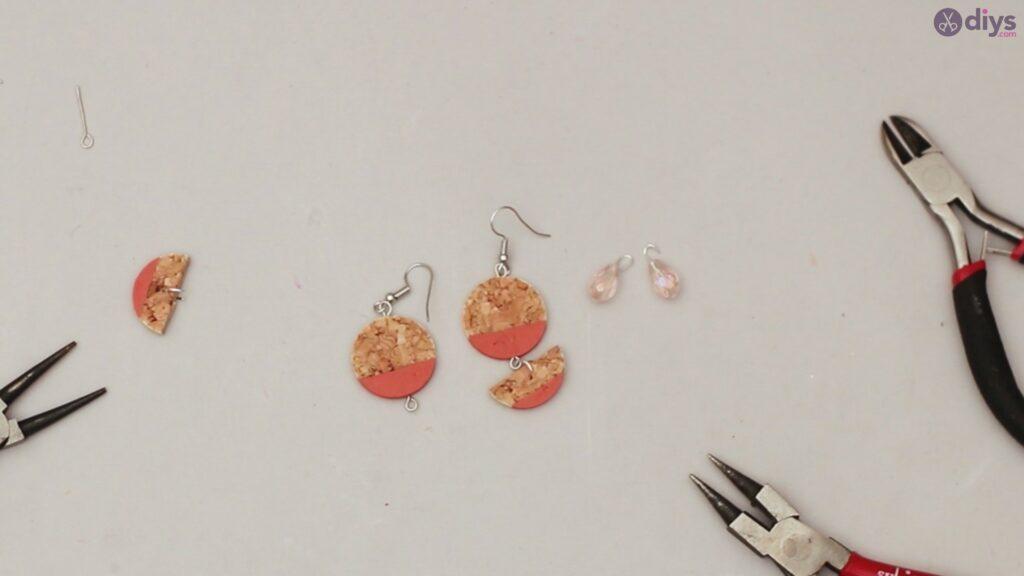 Diy wine cork earring (50)