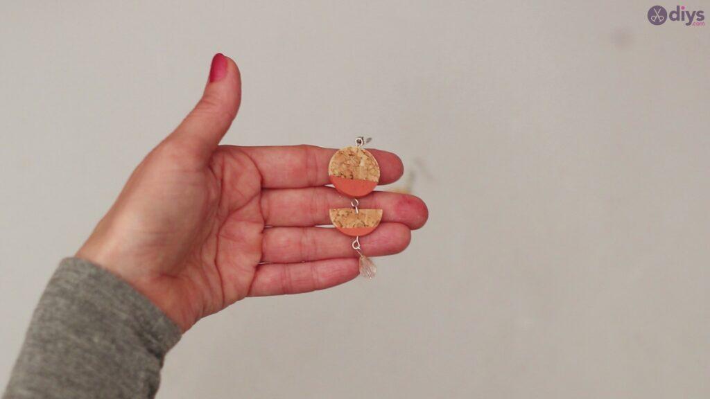 Diy wine cork earring (59)