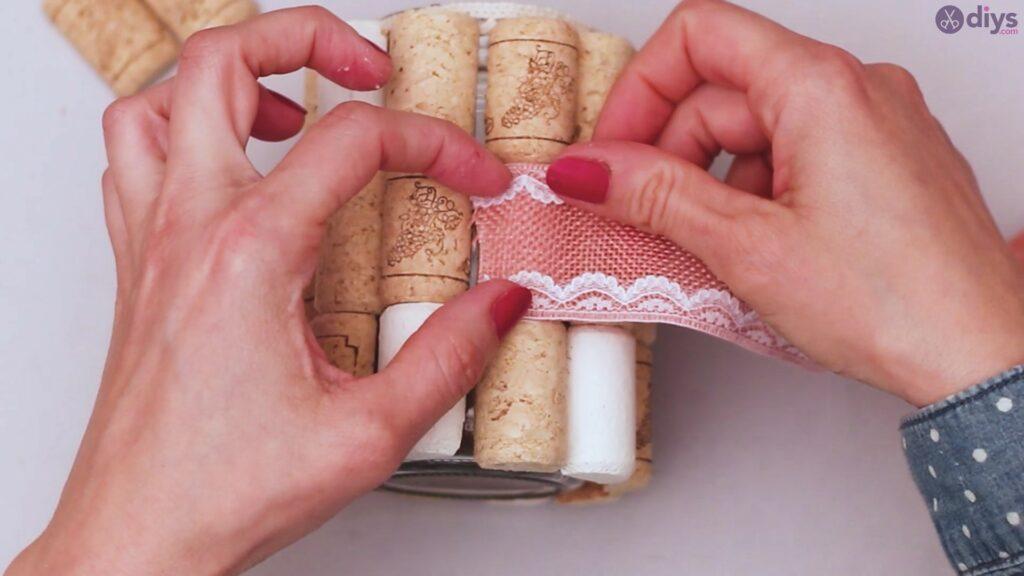 Diy wine cork flower vase (29)