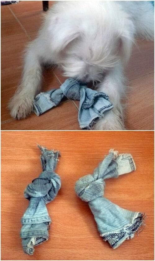 Denim knots