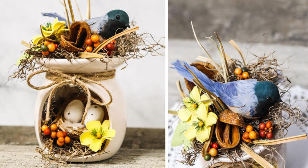 Dollar Tree Spring Decor: DIY Bird Craft Fragrance Warmer