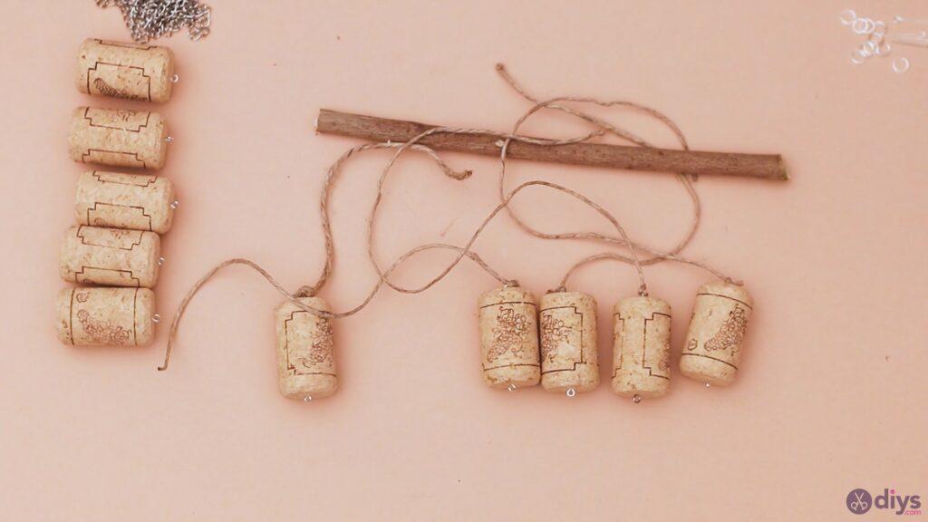 Hanging wine corks (12)