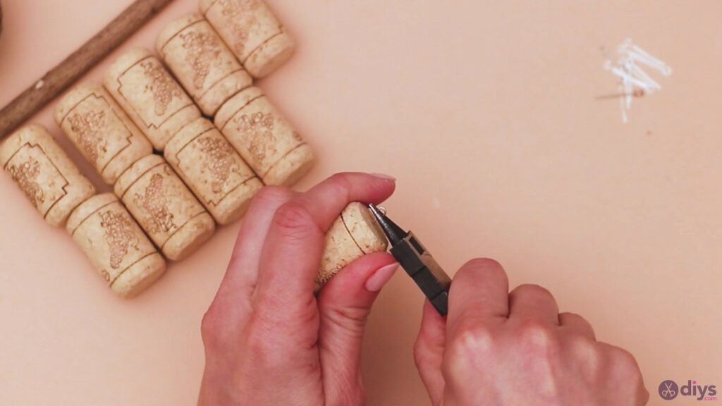 Hanging wine corks (3)