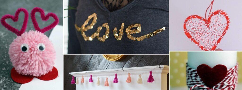 Easy Valentine Crafts