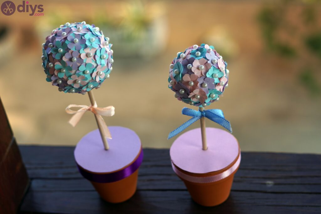 Pretty paper flower ball photos (3)
