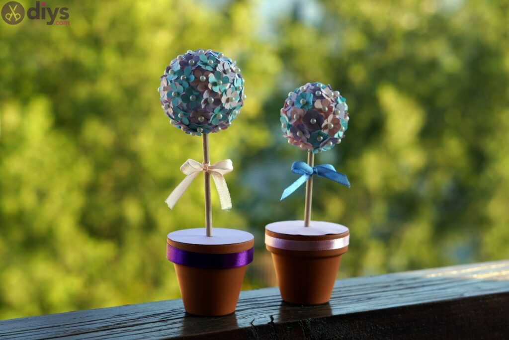 Pretty paper flower ball photos (6)