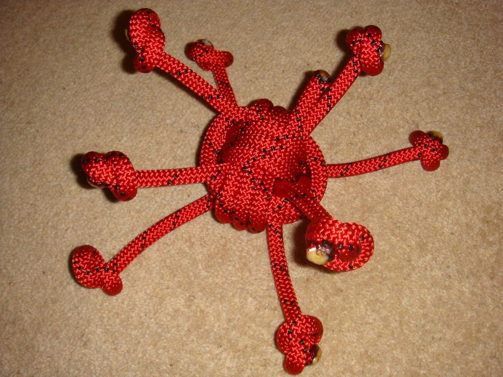 Red spider rope
