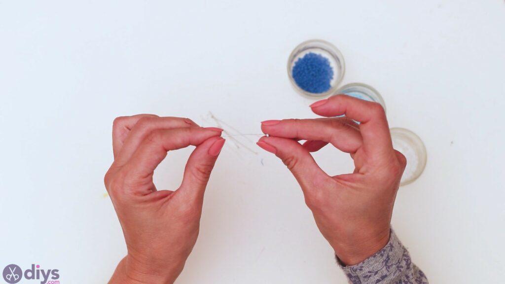 Seed bead pendant steps (2)