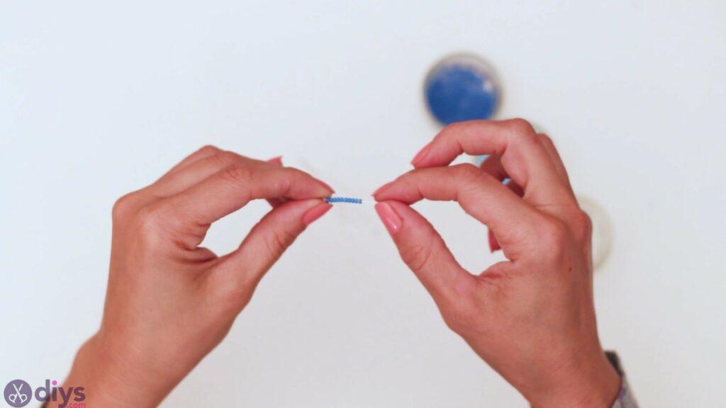 Seed bead pendant steps (4)