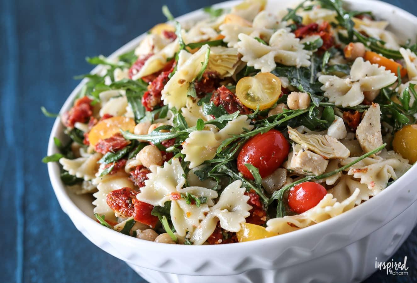 Sun dried tomato pasta salad recipe