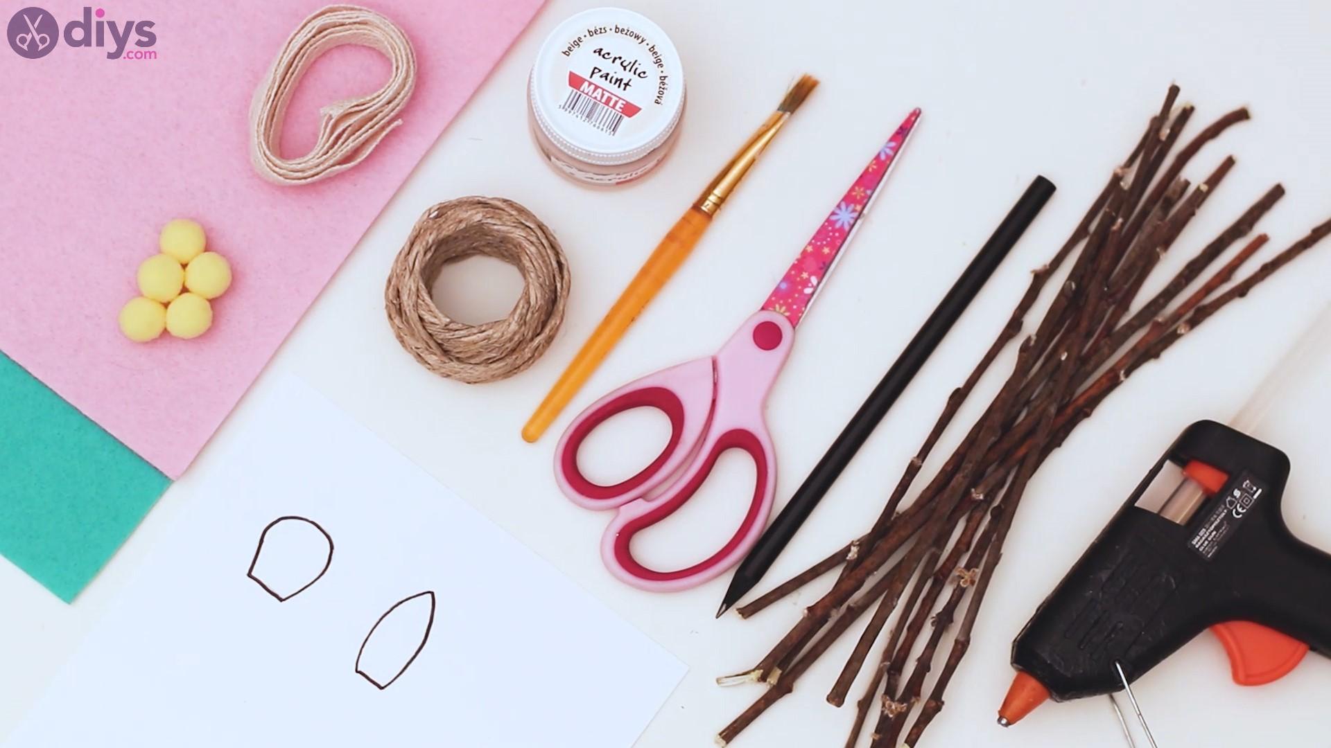 Twig monogram materials