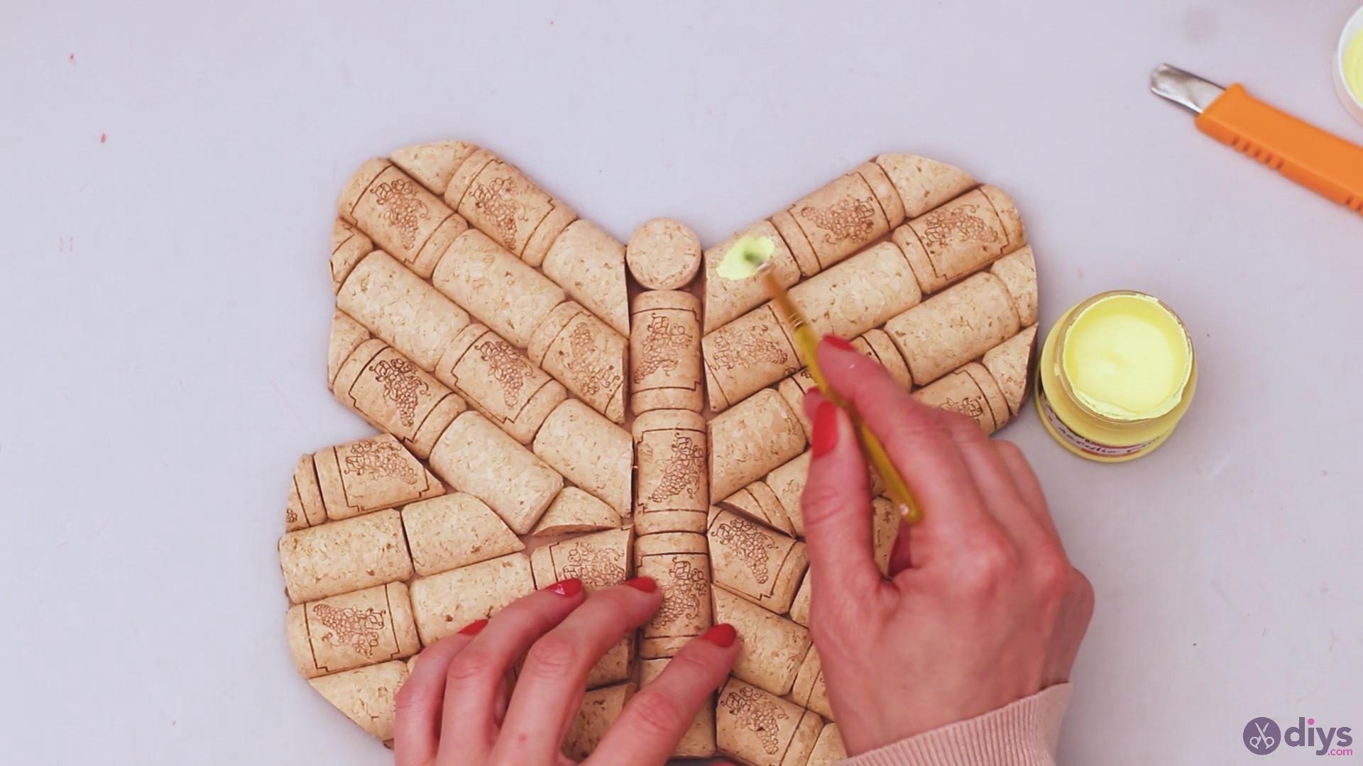 Wine cork butterfly decor (41)