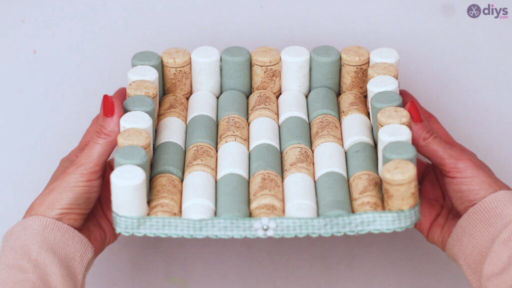 Wine cork napkin holder (57)