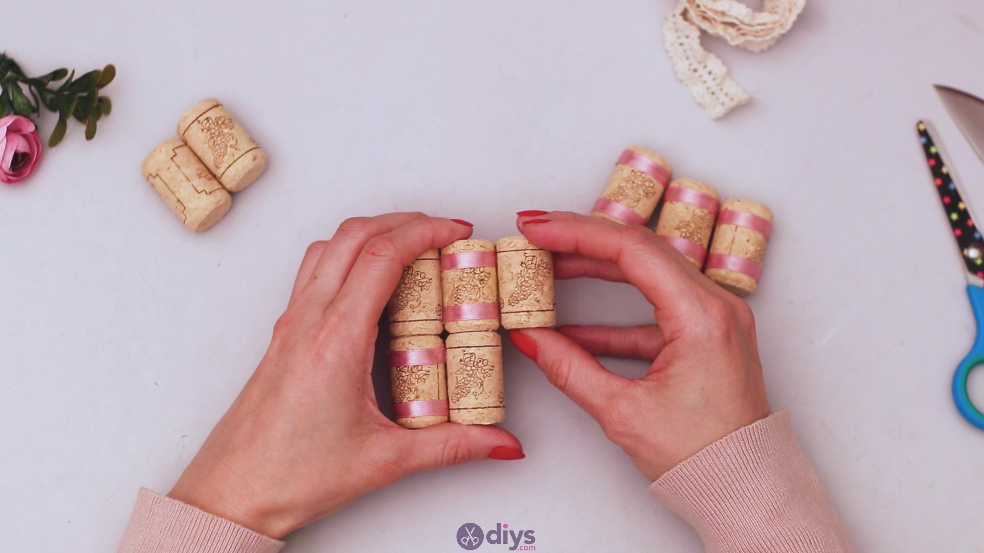 Wine cork soap rack (21)