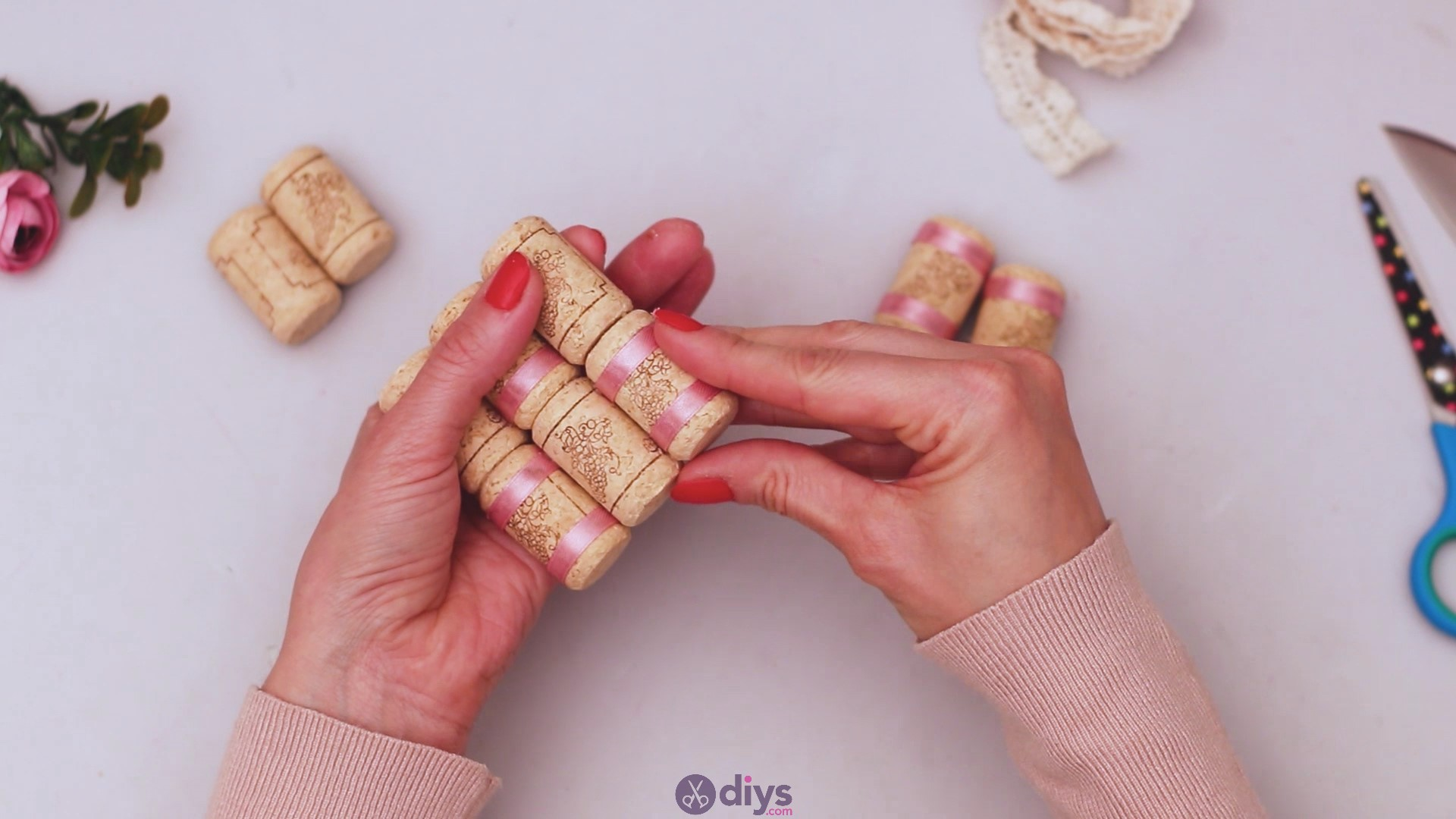 Wine cork soap rack (22)