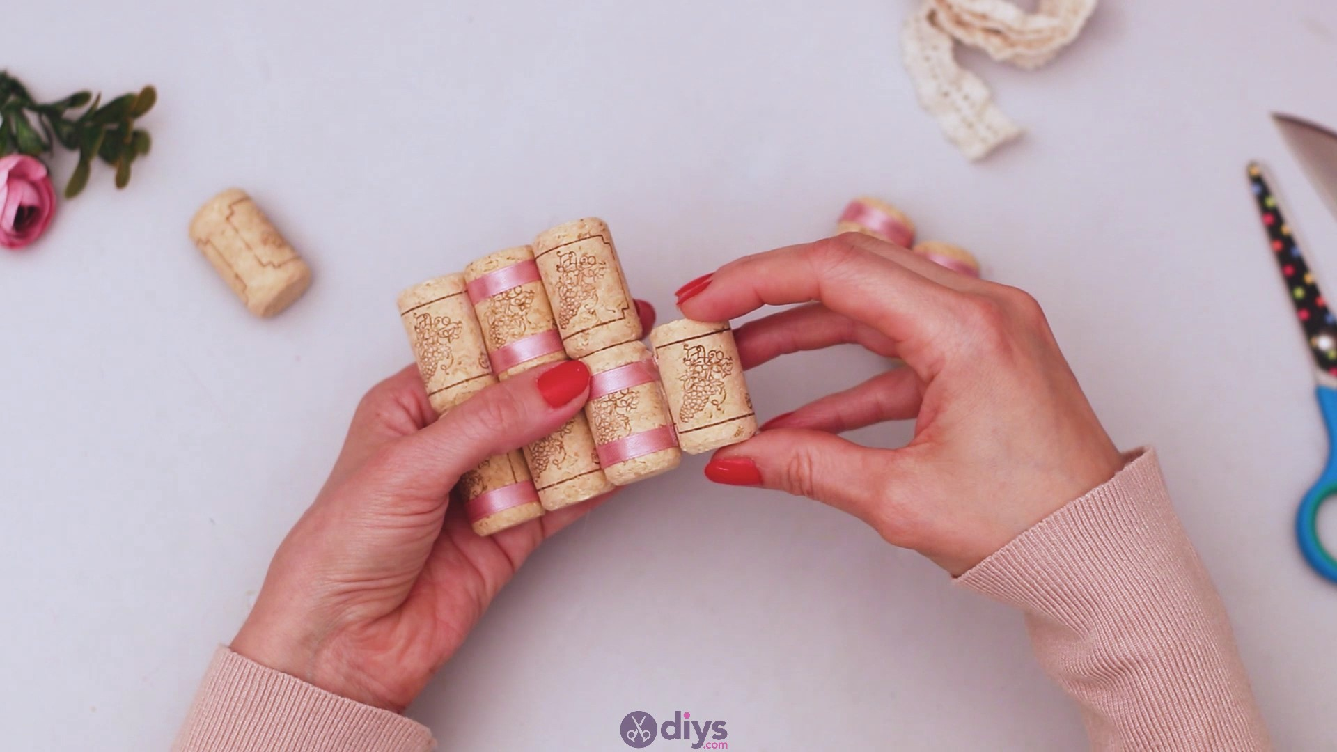 Wine cork soap rack (23)