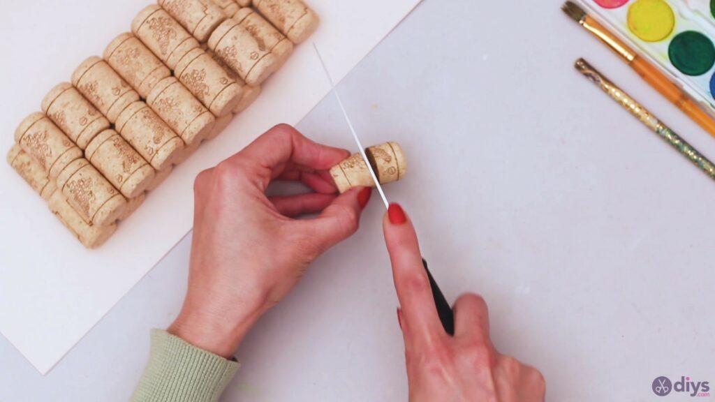 Wine cork wine glass decor (1)