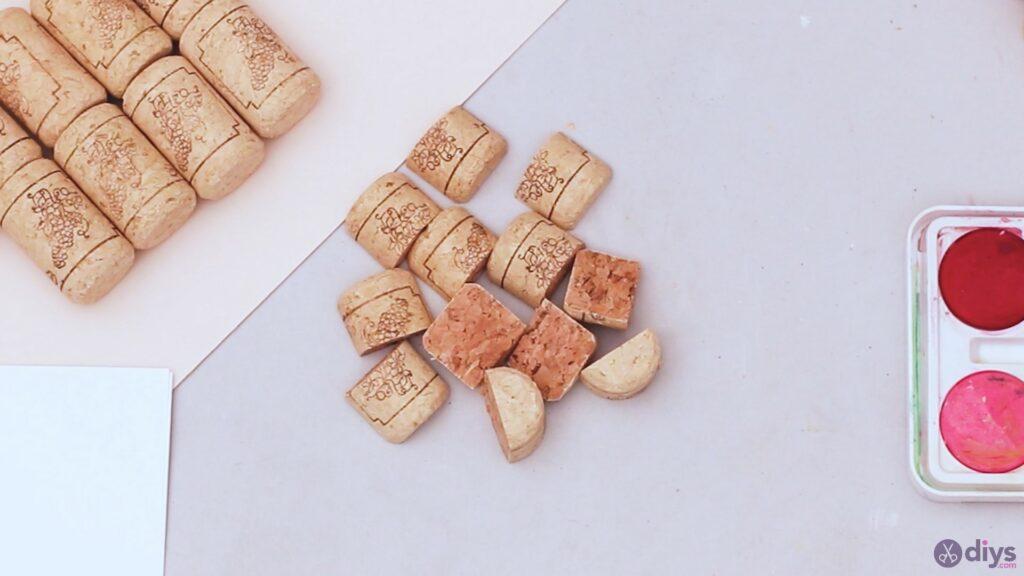 Wine cork wine glass decor (7)
