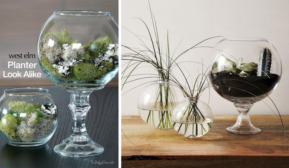 west elm planter look alike - DIY planter idea for $2
