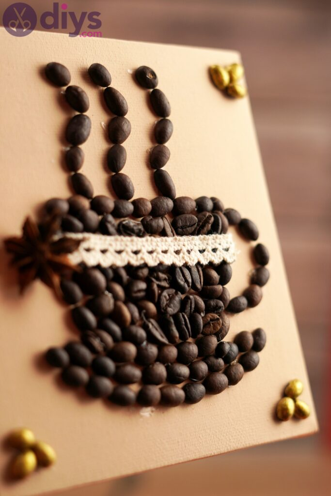 DIY Coffee Bean Art – The Perfect Gift for Any Coffee Lover