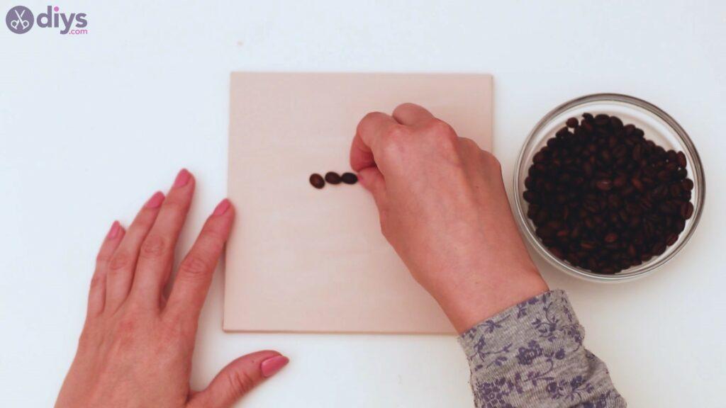 Coffee beans art steps (10)