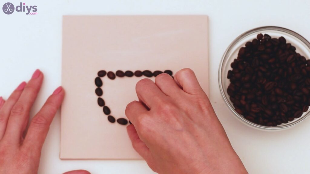 Coffee beans art steps (11)